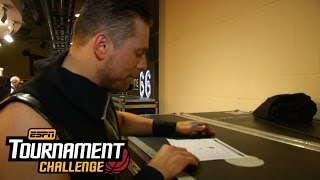 The Miz fills out his bracket for March Madness with ESPN's Tournament Challenge