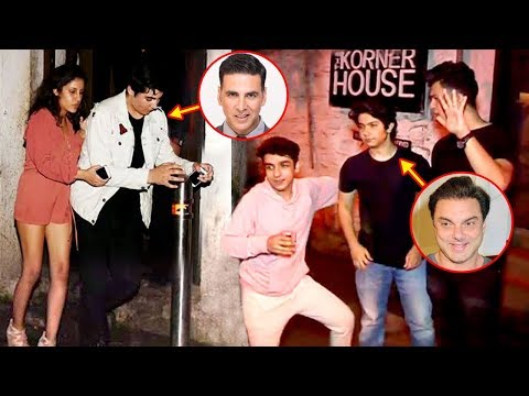 Akshay Kumar Son Aarav CAUGHT Drunk With Sohail Khan Son & Remo D'Souza's Son In Public
