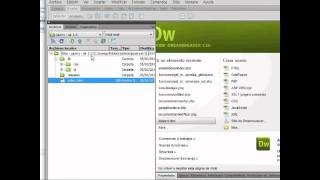 desk app adobe air - jquery app.  dreamweaver part 1