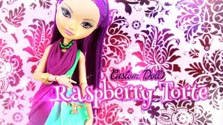 diy custom doll strawberry shortcake raspberry torte handmade doll crafts