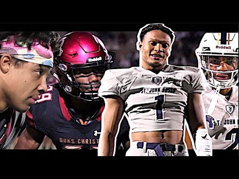 #1 Team In America St. John Bosco GOES CRAZY vs Oaks Christian | 🔥🎬 CIF D1 Semi Finals | Highlights