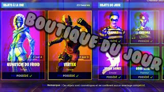 FORTNITE: Shop of the day, shop of March 12, 2019! SKINS NINJA OF FROID