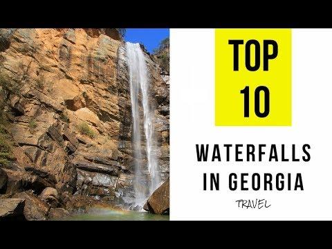TOP 10. Best Waterfalls in Georgia