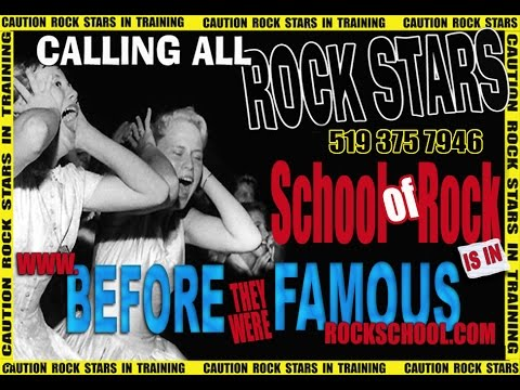 Famous Rock School - Group and Individual Music Lessons - After School / Camps in Owen Sound Ontario
