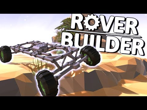 FUN NEW ROVER BUILDING GAME! - Rover Builder Gameplay First Look