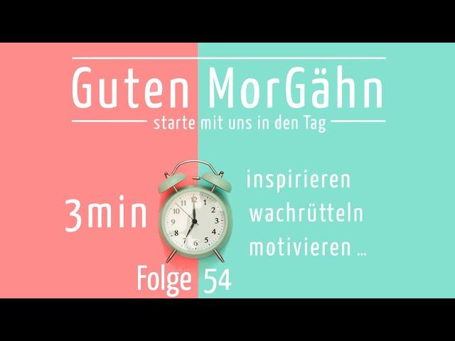 Guten MorGÄHN   Folge 54   Wie riecht Gott?