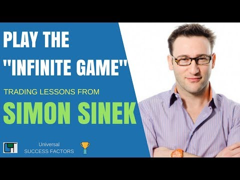 How Playing the INFINITE GAME will help your trading w/ Simon Sinek