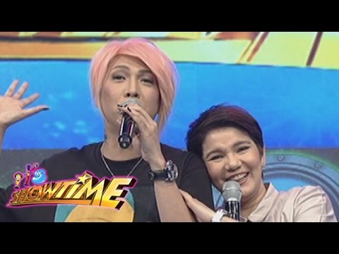 It's Showtime: Vice admires Amy's ageless beauty