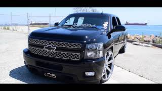 Silverado Crew Cab on Dub Wheels with SICK Interior