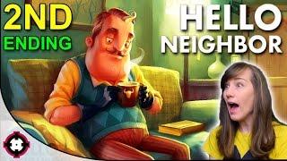 Easter Egg + Second/Alternate Ending?! ►Hello Neighbor Alpha 1 Gameplay PC◄