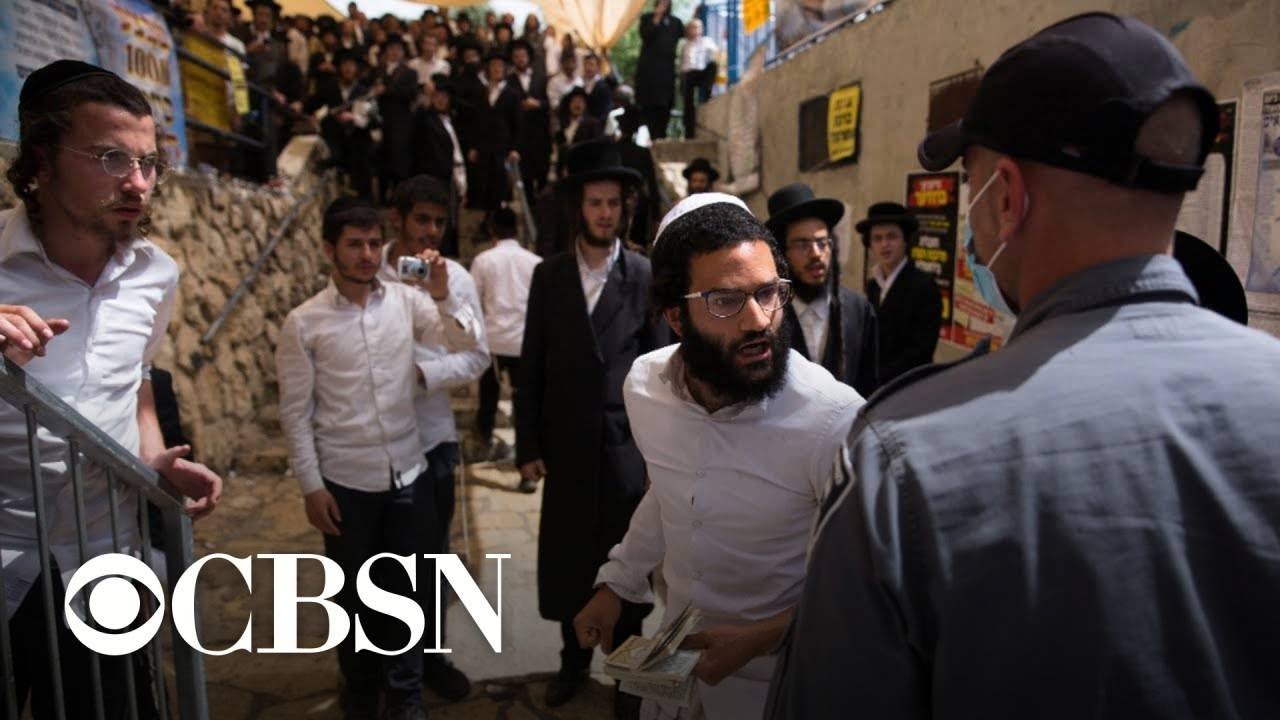 Dozens dead and injured in stampede at religious festival in Israel
