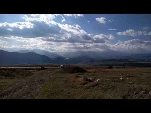 Поле камней. По дороге в Сисиан. Армения