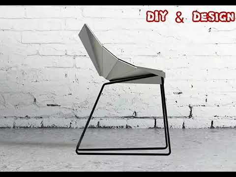 Metallic chair design conception de chaise m tallique youtube - Chaise metallique design ...