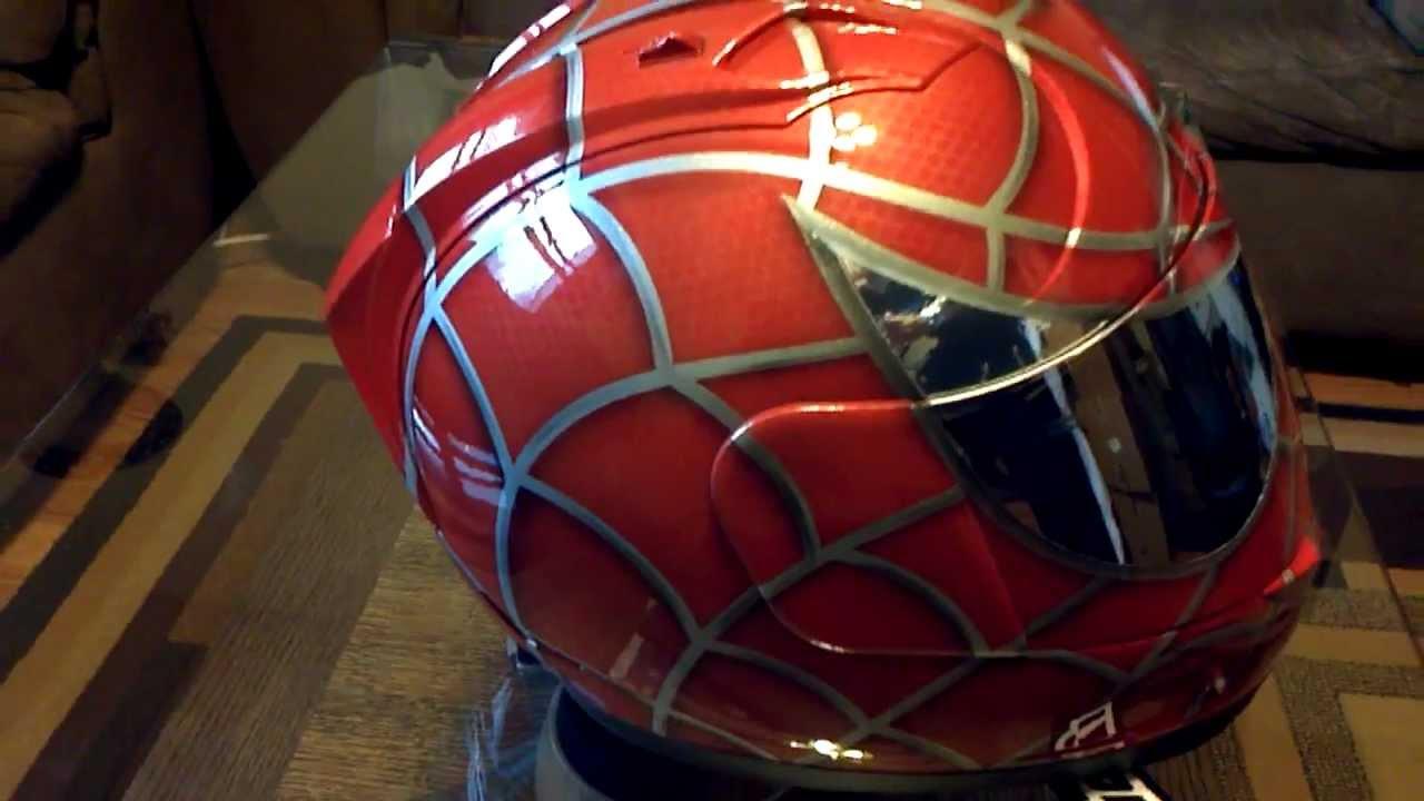 Red Orange Spiderman Helmet Icon Chrome Eyes Youtube