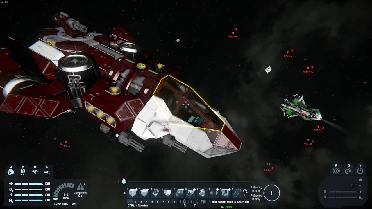 Space Engineers Dynamic Safe Zones w/ Chat Commands
