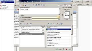Обзор программного обеспечения DELTA+ Персонал (Часть 2. Выборка и конструктор отчетов)