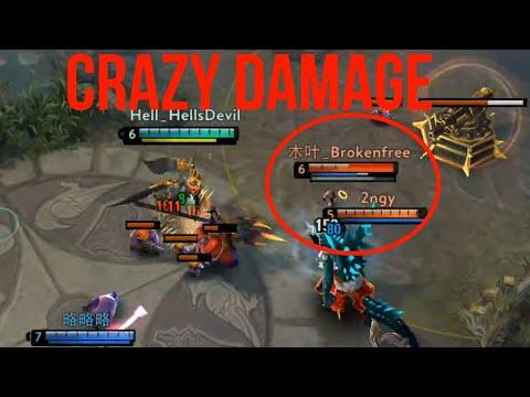 CRAZY Lance DAMAGE!!! Vainglory 5v5