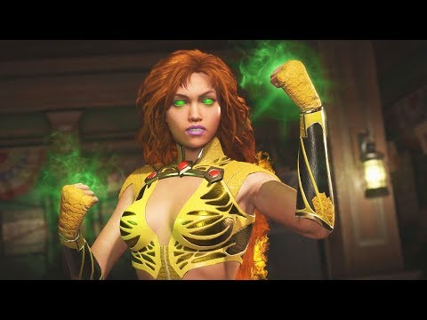 Injustice 2 - Starfire All Intro/Interaction Dialogues