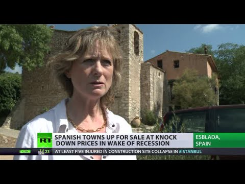 Soil for Sale: Whole Spanish towns sold for bargain amid recession
