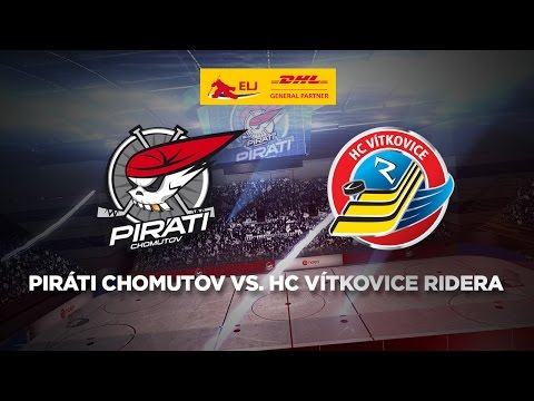 27. kolo DHL Extraliga juniorů: Piráti Chomutov - HC Vítkovice Ridera