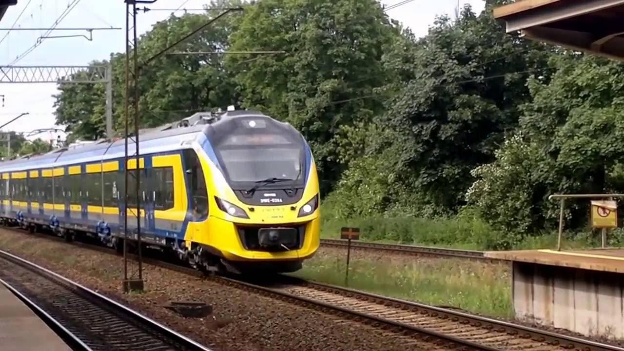 Duet jednostek 31WE impulsywnie wjeżdża na stację Gdańsk ...