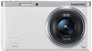 Samsung NX Mini 20.5MP Compact Interchangeable Lens Digital Camera With 9-27mm Lens