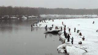 Рыбалка на Камчатке. Соревнования по ловле гольца.