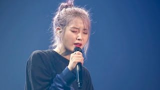 191102 아이유 온 힘을 다해 부르는 이런 엔딩 Love poem 광주 토요일 콘서트