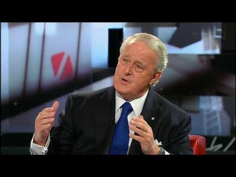 Brian Mulroney Interview on George Stroumboulopoulos Tonight
