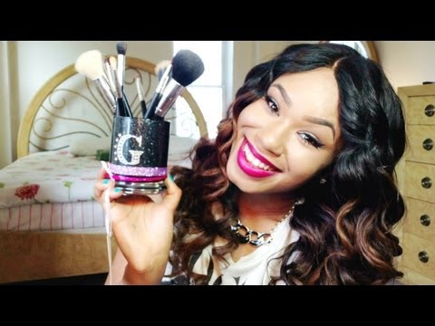 DIY Customized Brush Holder + Best Sigma Dupes Brushes (Royal Care Cosmetics Review)