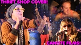 (CHRIS CANOTE COVER) MACKLEMORE & RYAN LEWIS - THRIFT SHOP (LIVE)