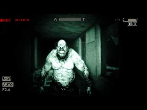 Outlast:  Whistleblower - Chris Walker chase!