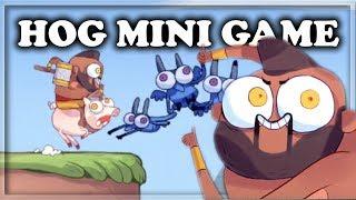 Secret Hidden Hog Rider Mini Game! | Clash Royale 🍊