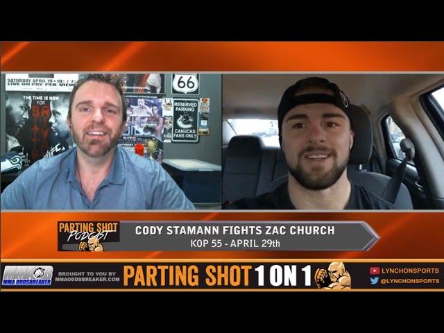 "KOP 55's Cody Stamann ""I'm going to put out Zac Church"""
