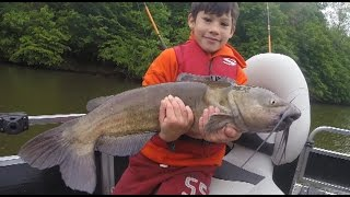 How to catch catfish in the day - Daytime fishing for catfish