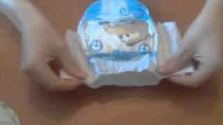 видео Купить подгузники трусики Huggies Little Walkers для мальчиков