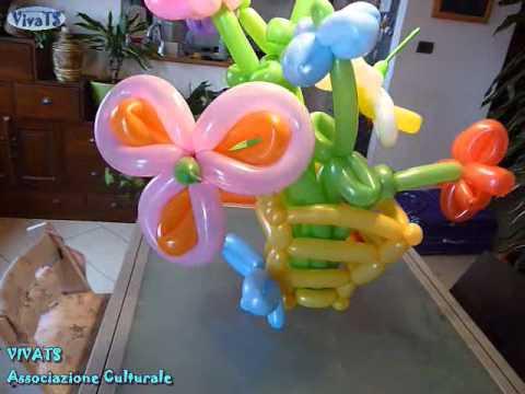 Vivats mazzo di fiori baloonart sculture di palloncini for Sculture di fiori