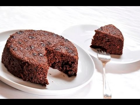 cake de chocolate en microondas