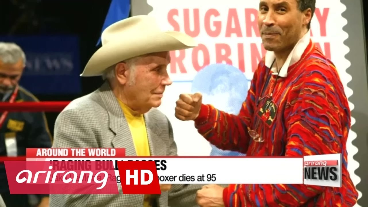Jake LaMotta 'Raging Bull' boxer dies at 95 - YouTube
