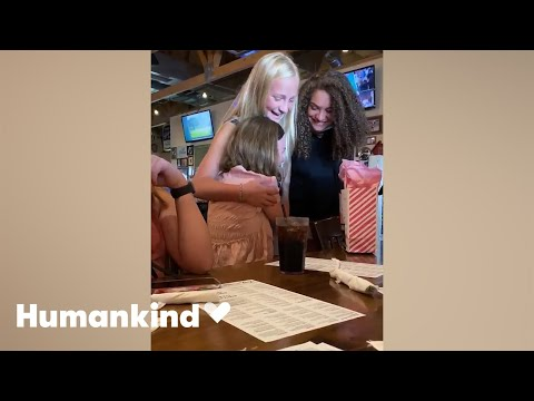 Teen's prayers answered when her best friends show up | Humankind