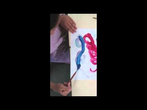 ¿Y si juntamos pinceles, pintura, música y niños? - CREActividades Pintar-Pintar
