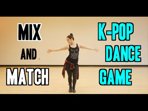 Mix and Match K-Pop Dance Game