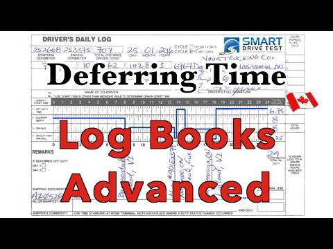 Logbooks | Deferring Time In Canada