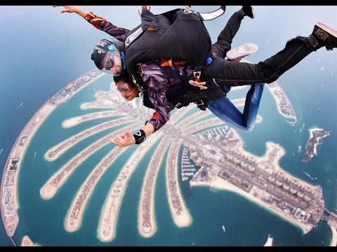 Skydive Dubai Birthday Vlog Lakshmi Menon Malayalam