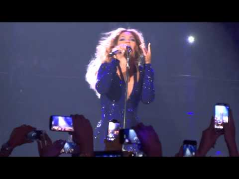 Beyonce' Love On Top live at All Phones Arena Sydney 31/10/13