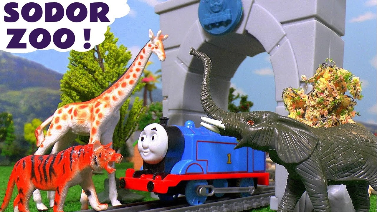 Thomas & Friends Toy Trains Sodor Zoo Animals Sing Along