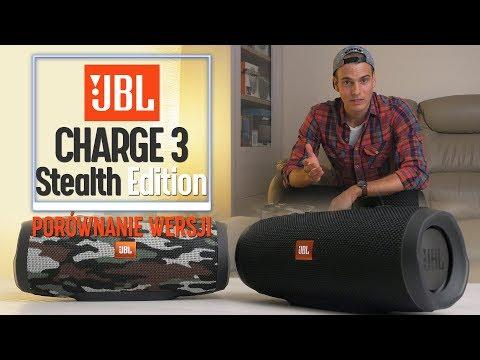 JBL Charge 3 Stealth Edition SE - recenzja i porównanie z Charge 3