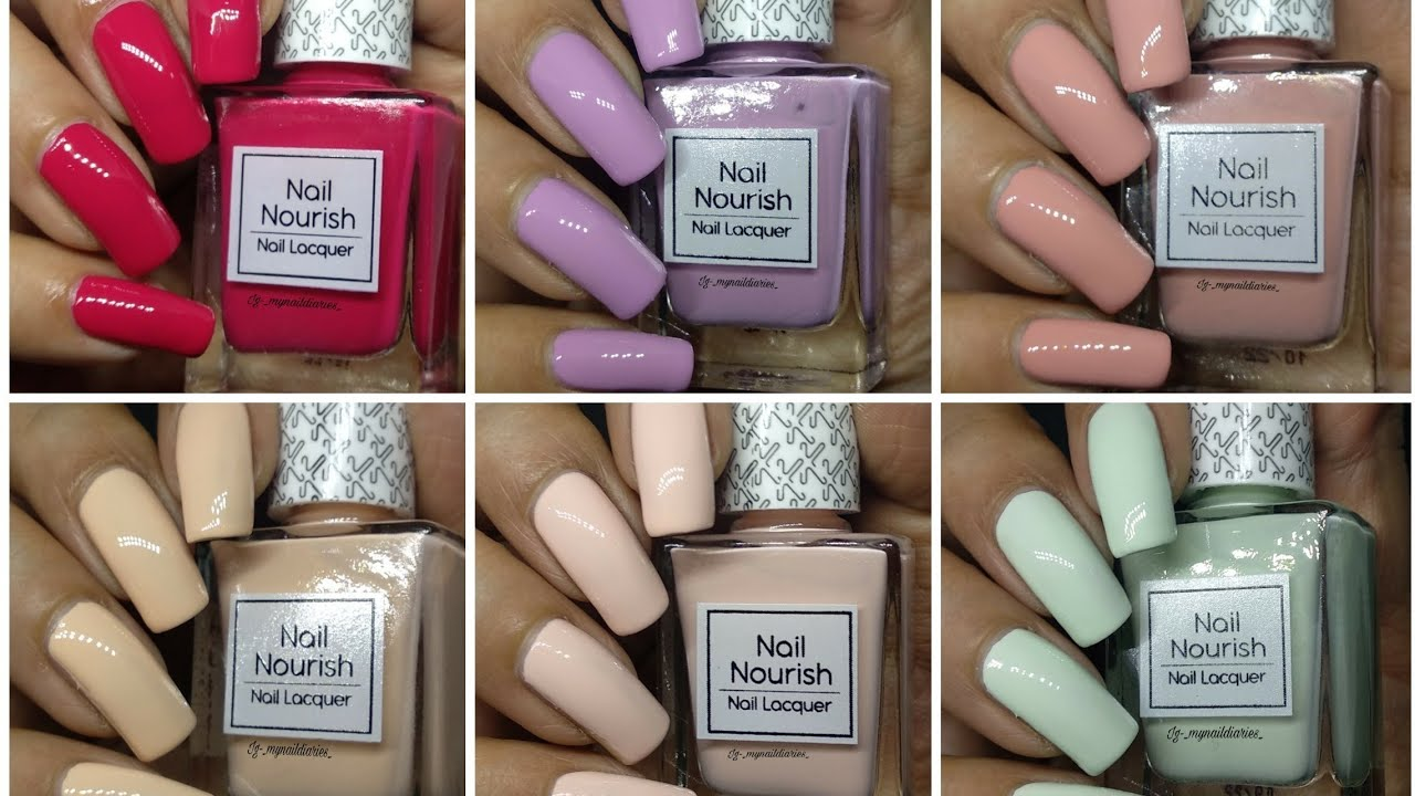 Kay Beauty By Katrina Kaif Nail Polishes Live Swatches And Review!!! ???