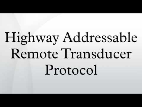 Highway Addressable Remote Transducer Protocol
