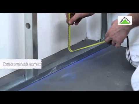 Como isolar paredes periféricas e perimetrais   LEROY MERLIN